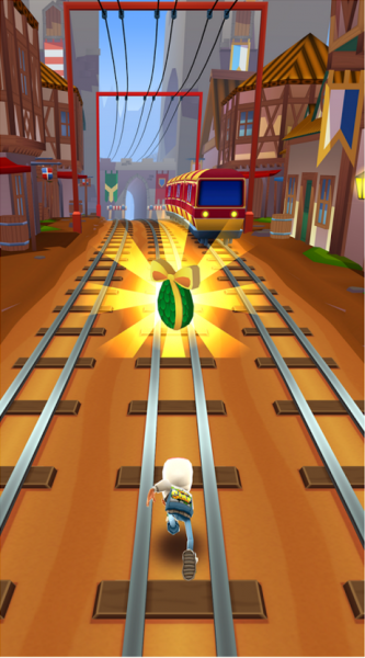 Subway Surfers на Android Аркады  - 1-13