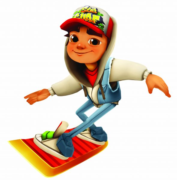 Subway Surfers на Android Аркады  - 1014975-subway-surfers-set-series