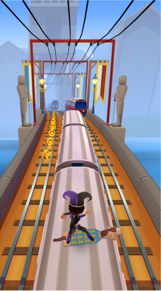 Subway Surfers на Android Аркады  - 2-11