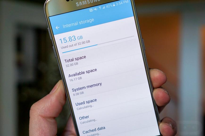 TouchWiz займет 8 ГБ на Samsung Galaxy S7 Мир Android - touchwiz-zajmet-8-GB-na-samsung-galaxy-s7