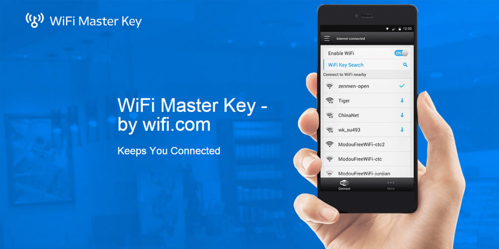 WiFi Master Key для Android Интернет  - wifi-master-key-keeps-connected