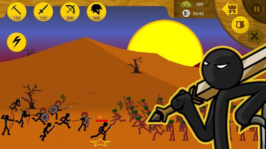 Stick War: Legacy для Android Стратегии  - 1457971861_4