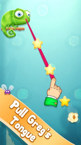 Pull My Tongue для Android Логические игры - Pull-My-Tongue2-1