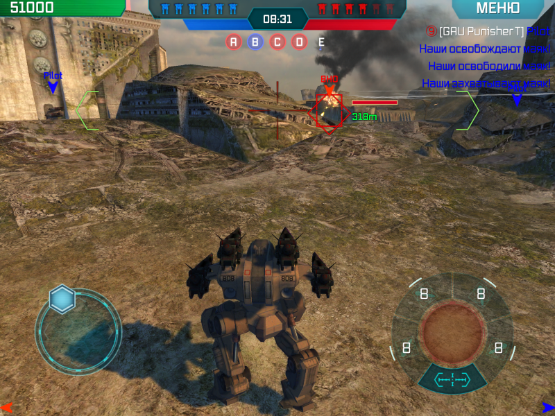 Walking War Robots для Android Экшны, шутеры - walking-war-robots-1.4.0-2