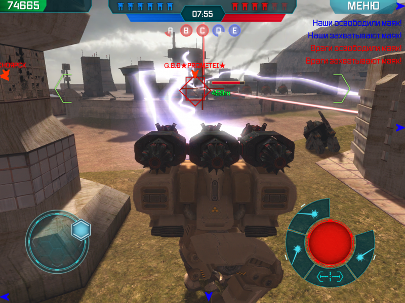 Walking War Robots для Android Экшны, шутеры - walking-war-robots-1.4.0-4