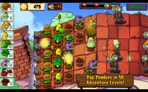 Plants vs. Zombies для Android Стратегии  - plants-vs.-zombies-free-1.1.49-6