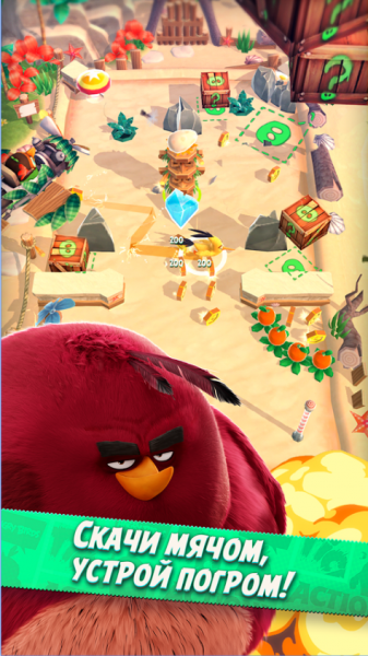 Angry Birds Action! для Android Аркады  - 1-1