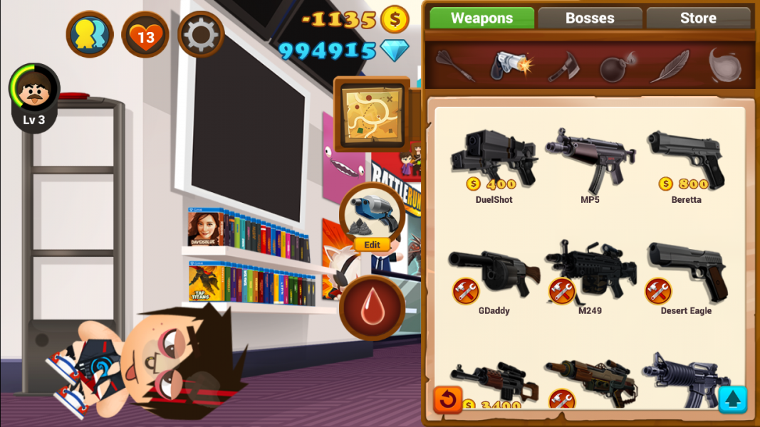 Beat the Boss 4 для Android Аркады - 1450720482_screenshot_2015-12-21-21-04-59