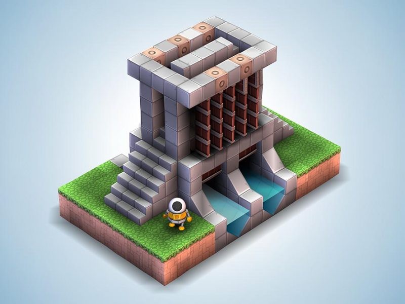 Mekorama для Android Логические игры  - 1463674911_monument-valley-image