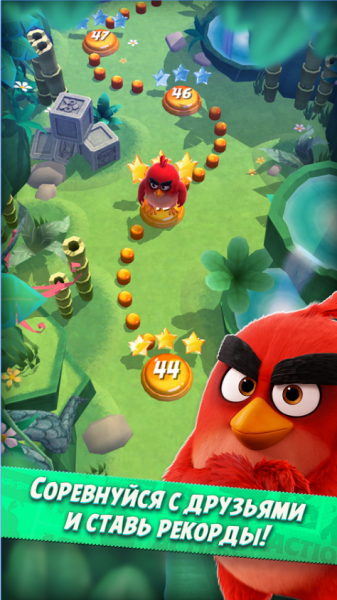 Angry Birds Action! для Android Аркады  - 2-1