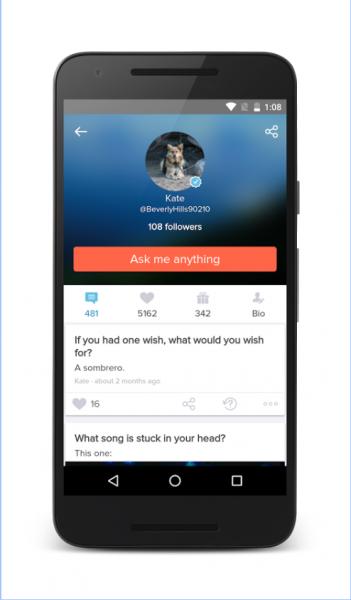 Ask fm для Android Приложения  - 2-5