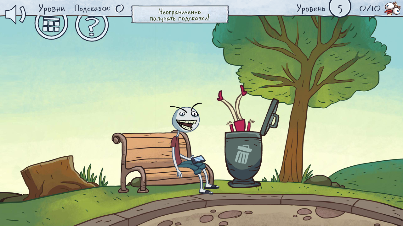 Troll Face Quest Video Memes для Android Логические игры  - Troll-Face-Quest-Video-Memes4