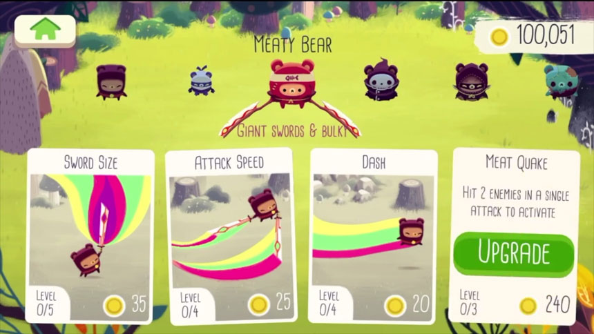 Bushido Bear для Android Экшны, шутеры - bushido-bear-telefon