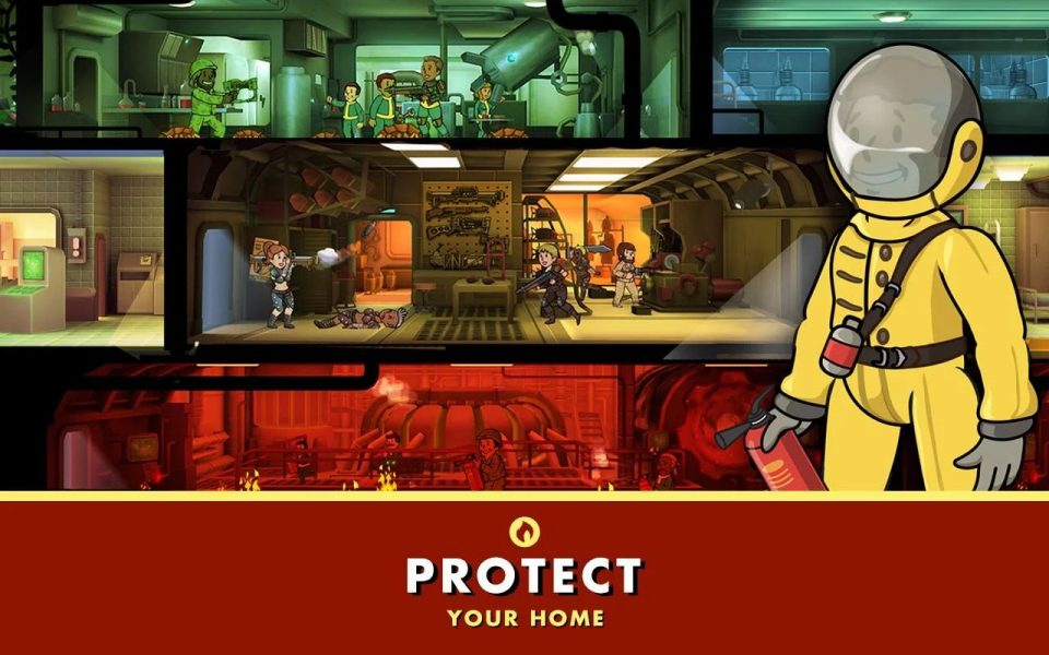 Fallout Shelter для Android Симуляторы  - fallout-shelter-1.5-2