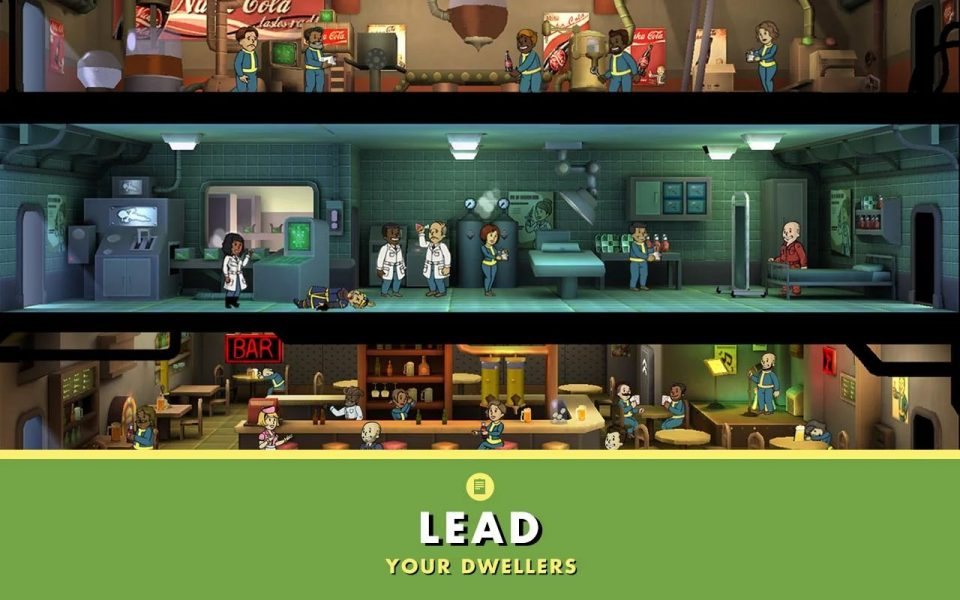 Fallout Shelter для Android Симуляторы  - fallout-shelter-1.5-3