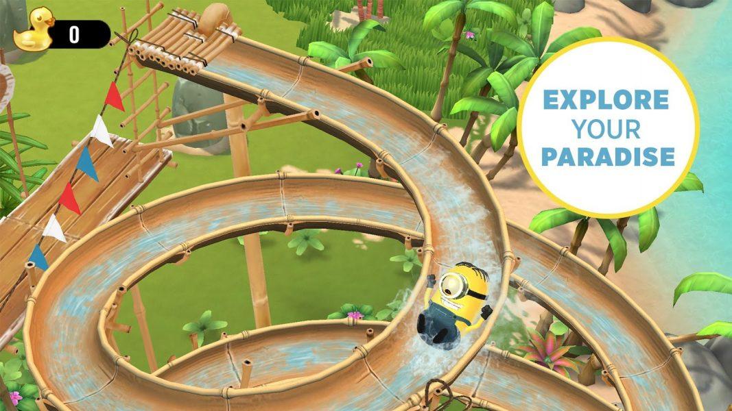 Миньоны: райский уголок для Android Казуальные - minionsparadise3