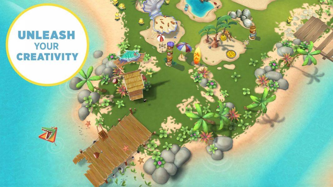 Миньоны: райский уголок для Android Казуальные - minionsparadise5