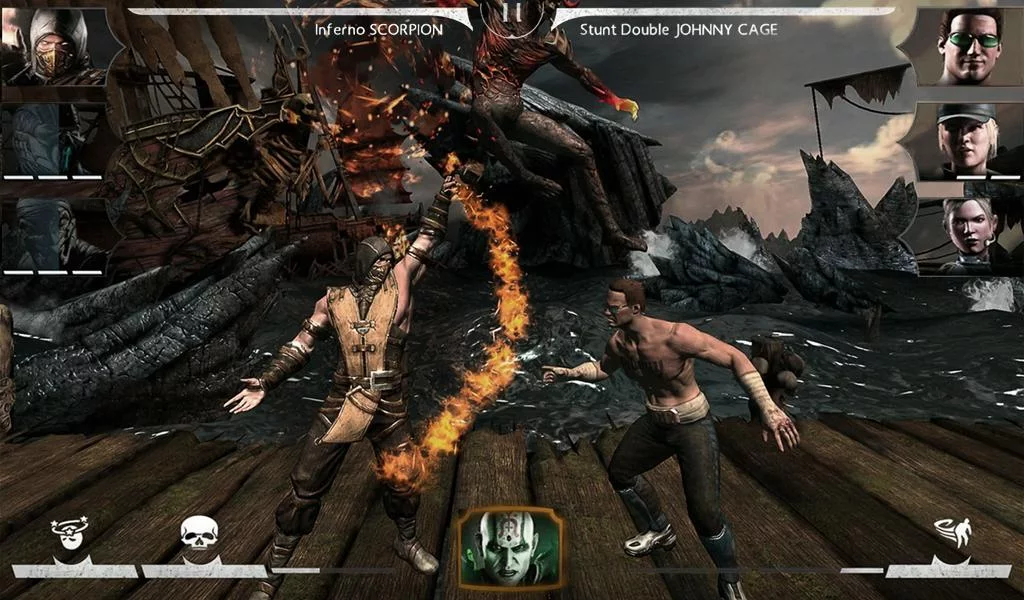 MORTAL KOMBAT X для Android Игры  - mortal-kombat-x-1.8.0-3