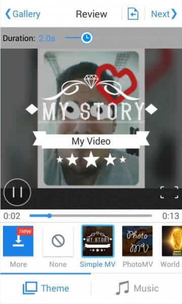 Viva Video для Android Мультимедиа  - vivavideo-free-video-editor-1