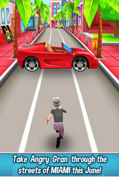 Angry Gran Run для Android Гонки  - 1-1
