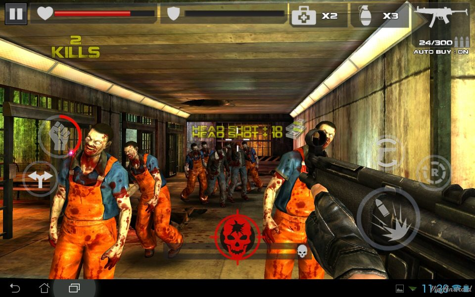 DEAD TARGET: Zombie для Android Экшны, шутеры  - 1402648113_screenshot_2014-06-13-11-30-57