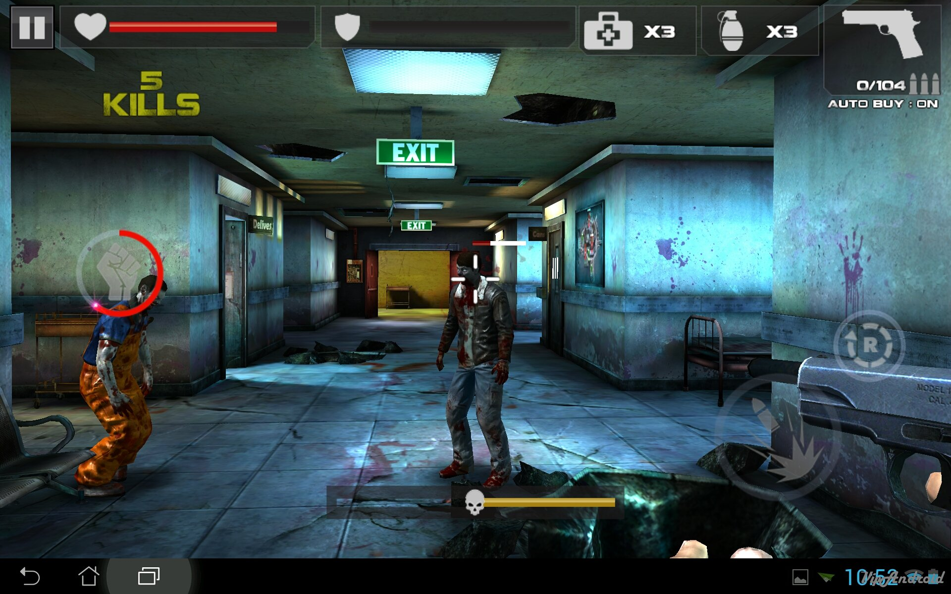 DEAD TARGET: Zombie для Android Экшны, шутеры  - 1402648135_screenshot_2014-06-13-10-52-38