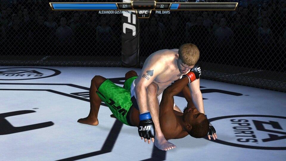 EA Sports UFC для Android Спортивные  - 1425829370_ea_sports_ufc-5