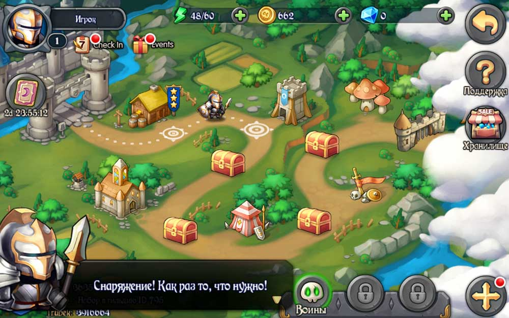 Heroes Tactics: War & Strategy для Android Стратегии  - 1456379759_heroes-tactics-war-strategy-7