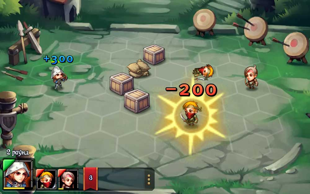 Heroes Tactics: War & Strategy для Android Стратегии  - 1456379785_heroes-tactics-war-strategy-6