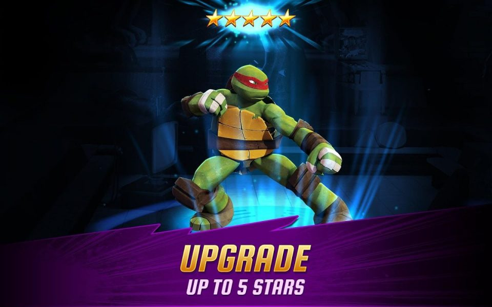 Ninja Turtles: Legends для Android Экшны, шутеры  - 1465042462_-929206895