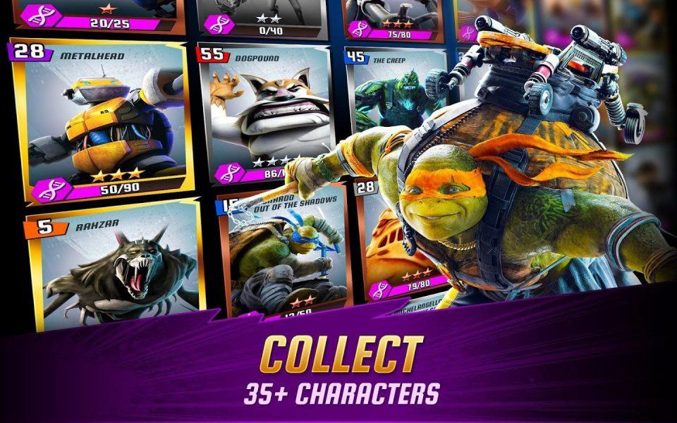 Ninja Turtles: Legends для Android Экшны, шутеры  - 1465042463_-929206895