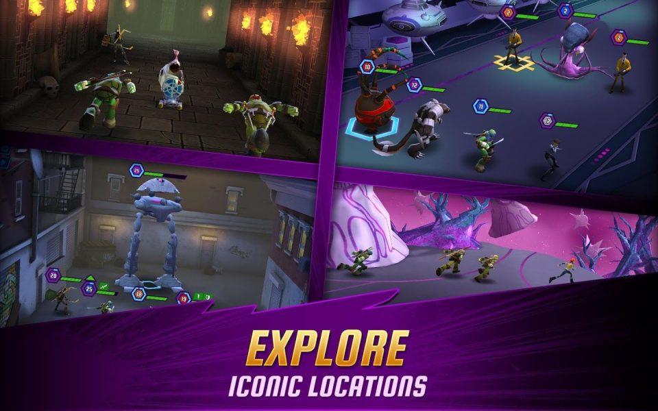 Ninja Turtles: Legends для Android Экшны, шутеры  - 1465042465_-929206895
