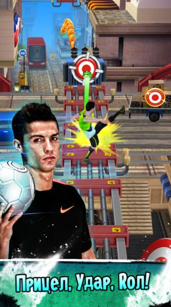 Cristiano Ronaldo: Kick'n'Run для Android Аркады  - 1466160228_prilozheniya-na-google-play-cristiano-ronaldo-kickrun-1