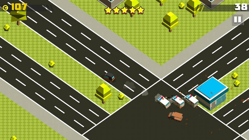Crazy Cars Chase для Android Гонки  - 1467127787_crazy-cars-chase-2