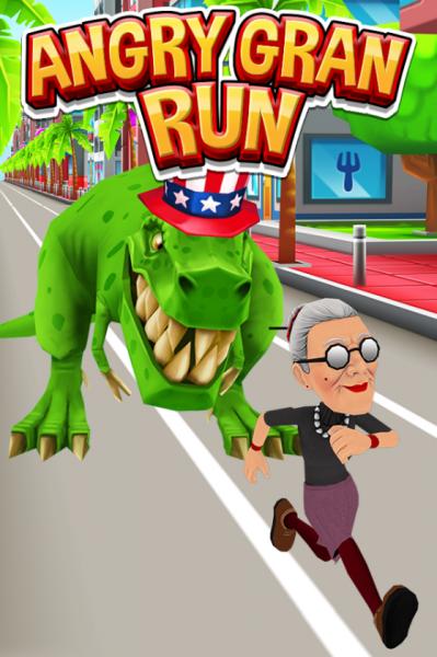 Angry Gran Run для Android Гонки  - 2-1