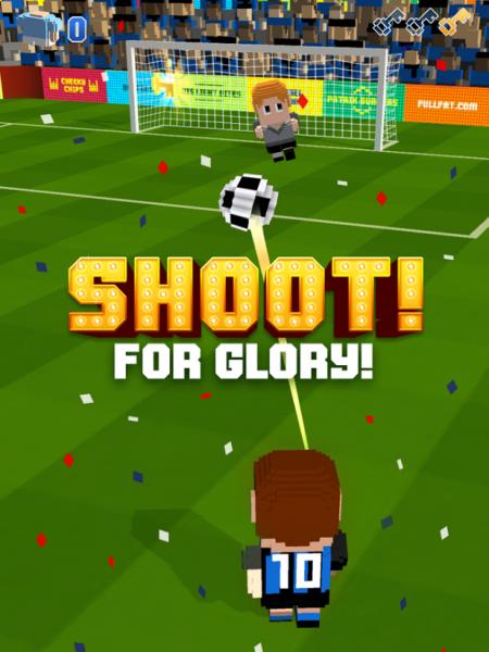 Blocky Soccer для Android Спортивные  - 2-3