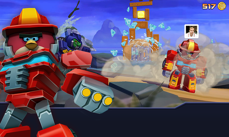 Angry Birds Transformers для Android Аркады  - angry-birds-transformers-1.13.2-6