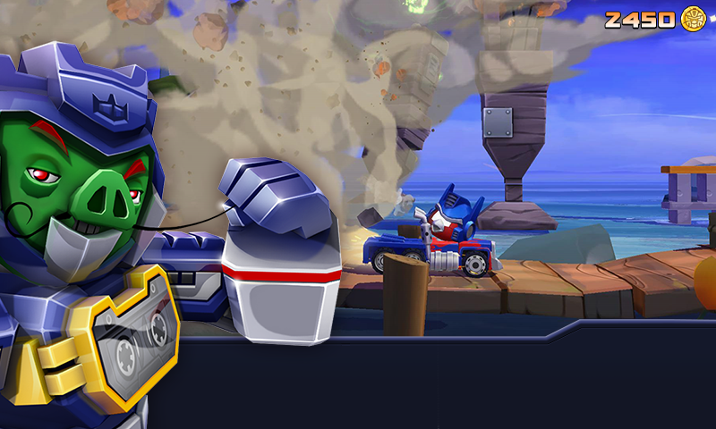 Angry Birds Transformers для Android Аркады  - angry-birds-transformers-1.13.2-7