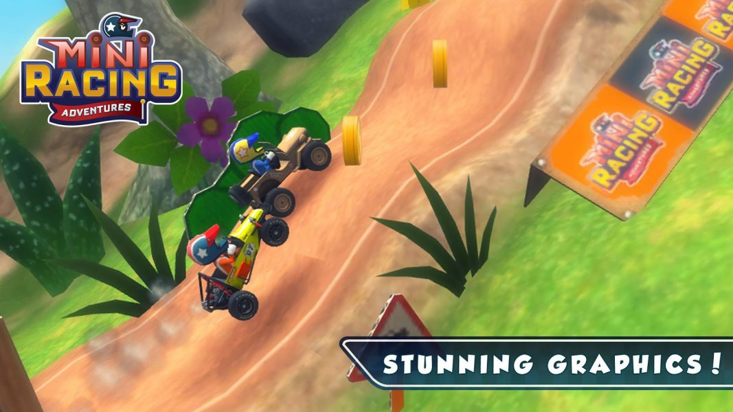 Mini Racing Adventures для Android Гонки  - mini-racing-adventures-1.8-3