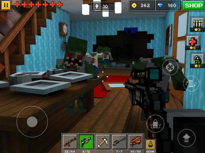 Pixel Gun 3D для Android Экшны, шутеры  - p199n4a9h3178e1rghnksnrt1stt9
