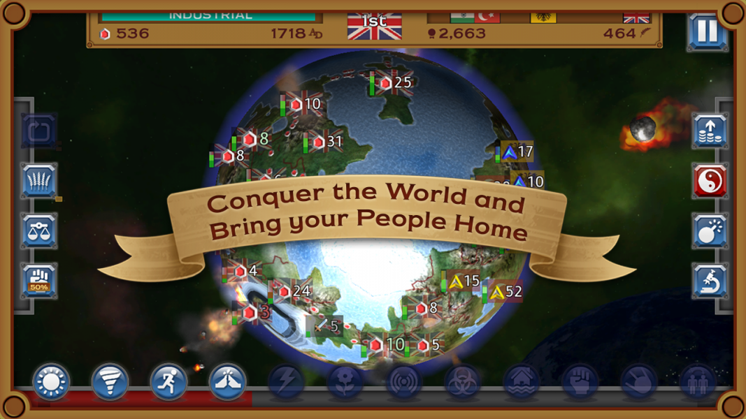 Rapture - World Conquest для Android Стратегии  - rapture-world-conquest-1.0.8-1