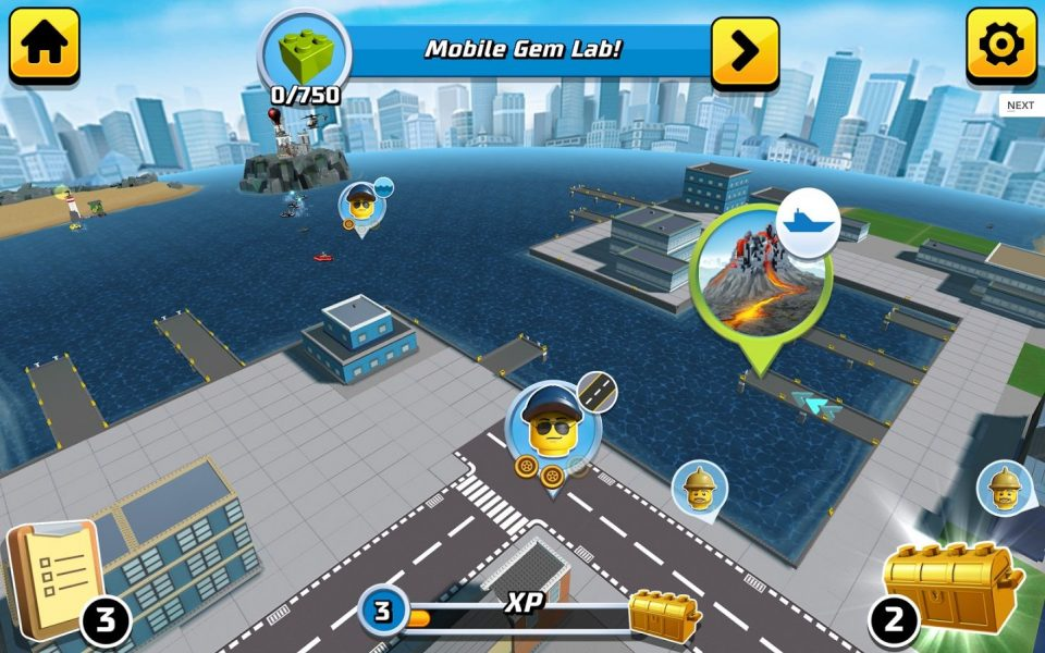 LEGO City: My city 2 для Android Аркады  - 1-2