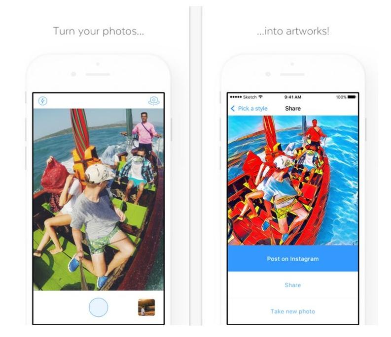 Prisma для Android Мультимедиа  - Screenshot