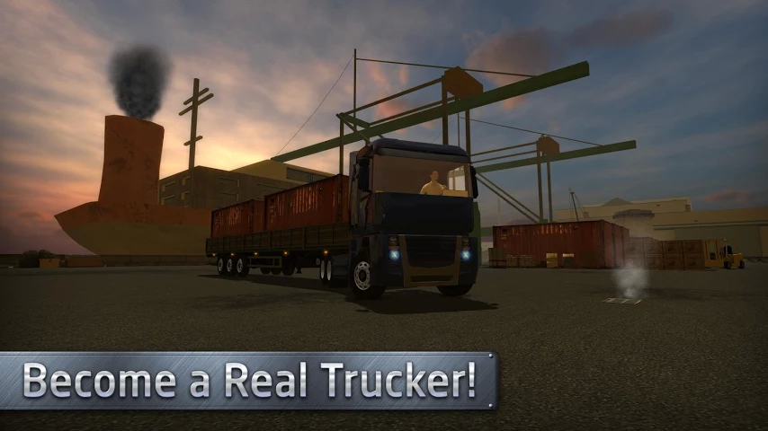Euro Truck Driver для Android Симуляторы  - euro-truck-driver-1.4.0-2