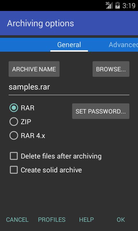 RAR для Android Системные приложения  - rar-for-android-5.40.41-2