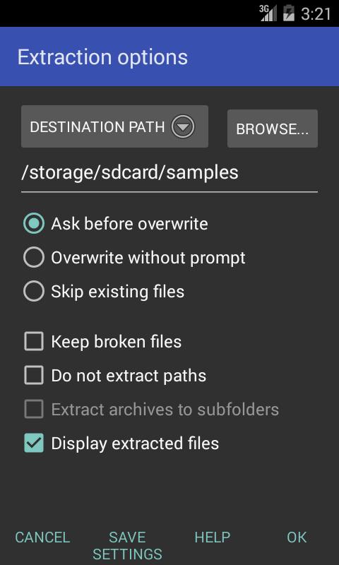 RAR для Android Системные приложения  - rar-for-android-5.40.41-4