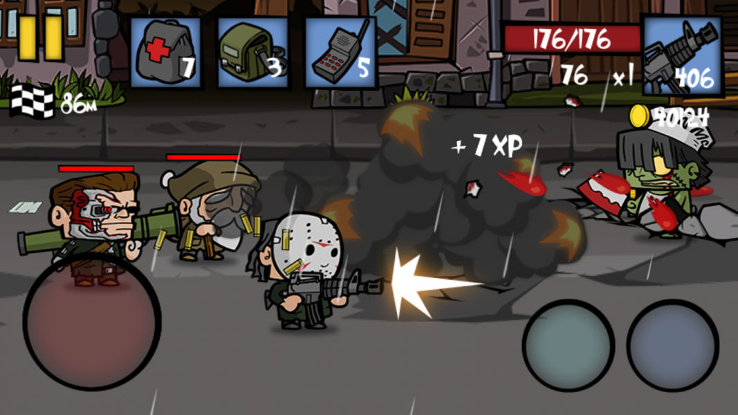 Zombie Age 2 для Android Экшны, шутеры  - zombie-age-2-1.1.7-3