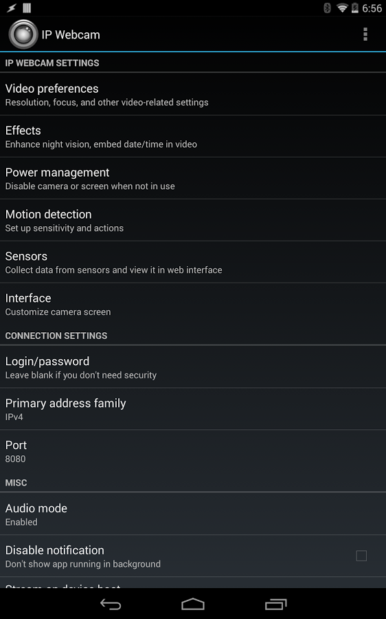 IP Webcam для Android Мультимедиа  - ip-webcam-1.12.4r-6
