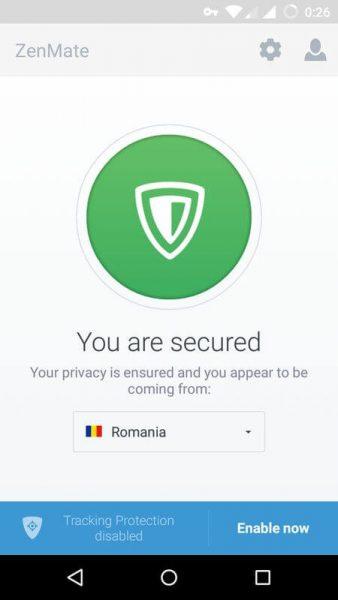 Как настроить VPN сеть на андроиде ? Приложения  - zenmate-vpn-android-3