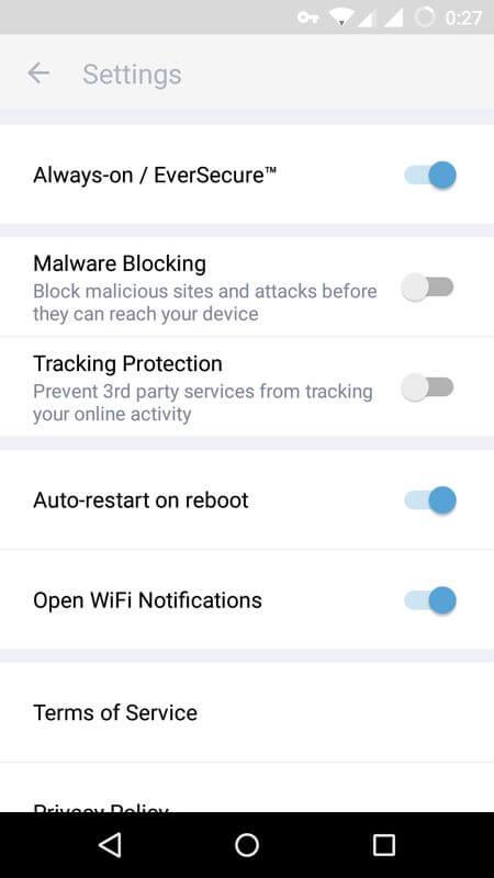 Как настроить VPN сеть на андроиде ? Приложения  - zenmate-vpn-android-4
